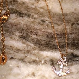 Juicy Couture Anchor Necklace